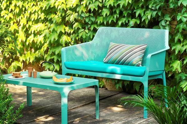Bilde av Nardi Net sofapute - design Turkis