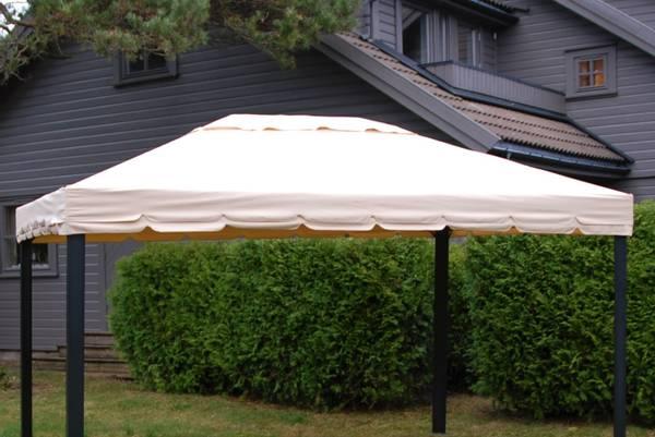 Bilde av Comfort tak til 3x4 m paviljong - beige